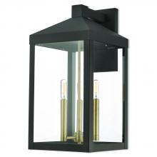 Livex Lighting 20585-07 - 3 Lt BZ Outdoor Wall Lantern