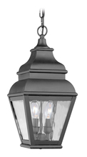 Livex Lighting 2604-04 - 2 Light Black Outdoor Chain Lantern