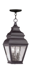 Livex Lighting 2604-07 - 2 Light Bronze Outdoor Chain Lantern