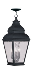 Livex Lighting 2610-04 - 3 Light VPW Outdoor Chain Lantern