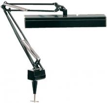 Lite Source Inc. LSF-150BLK - Clamp On Fluor. Swing Arm Lamp, Black, 15Wx2, #Dci