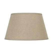 Royal Designs Beige Pleated Oval Designer Lamp Shade Beige, 4 x 6.5 x 12 x 21.5 x 12.5 Inc DS-41-21BG