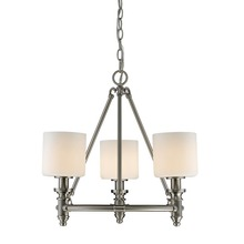 Golden 2116-3 PW-OP - 3 Light Chandelier