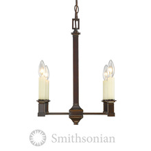 Golden 5907-4 CDB - 4 Light Chandelier (No Shades)