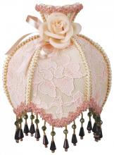 Royal Designs, Inc. NL-106 - Pink Lace Designer Beaded Night Light