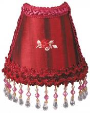 Royal Designs, Inc. NL-109 - Burgundy Satin Designer Beaded Night Light