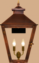 Coppersmith CS-41 Custom - Conception Street Wall Mount Lantern without Bottom Finial